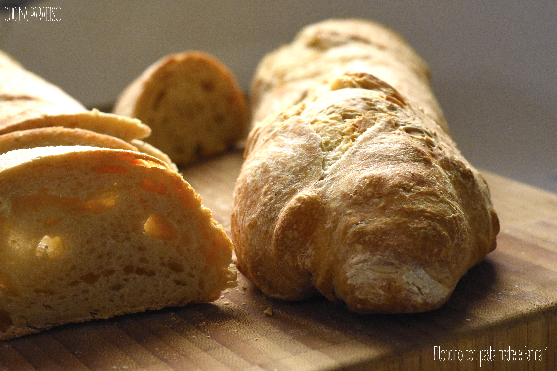 Filoncino con pasta madre e farina 1 3
